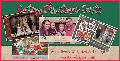 Texas Christmas Cards.Christmas Cards West Texas Websites And Design Llc
